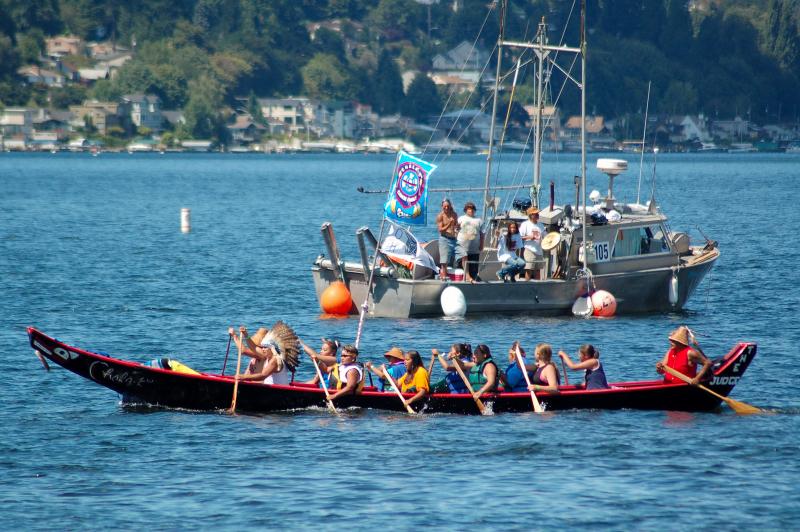 Tribal canoe journey2006 07 3014 22 21 chris stearns photo