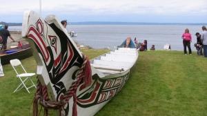 Chief Frank Nelson Canoe