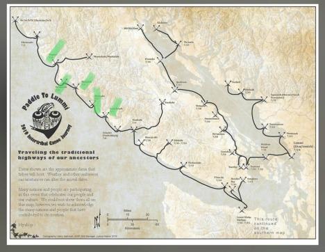 Tribal Journey Map. 2019